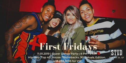 XO First Friday 11.01 | LGBTQ 90's Edition Dance Party @ The Stud SF