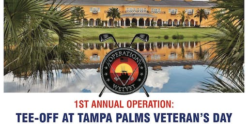 1st Annual Operation: Tee-Off at Tampa Palms Veteran's Day