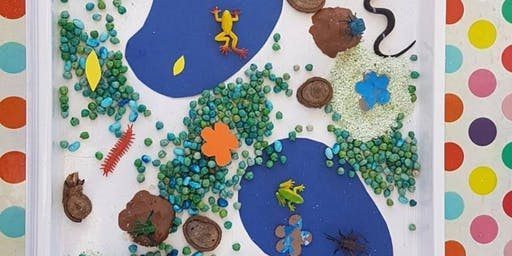 Bug Habitat Sensory Play Day