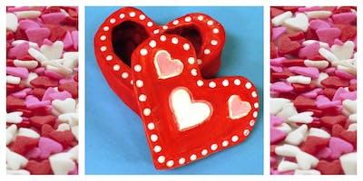 Parent & Child Create Night- Valentine's Day Craft (5-12 Years)