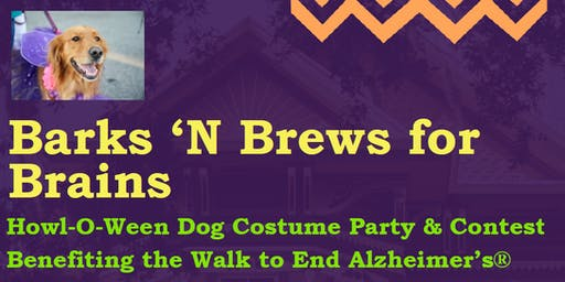 Barks 'N Brews for Brains: Dog Costume Party & Contest Benefiting Alz.