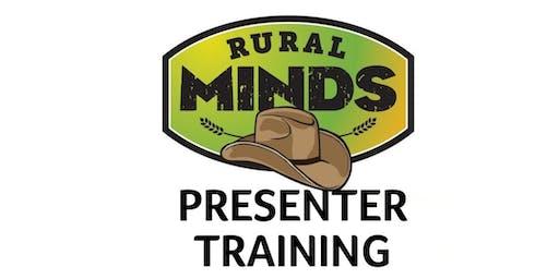 Rural Minds Train the Presenter