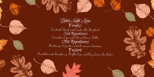 Fall Supper Ladies Night