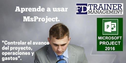 Workshop MsProject Santo Domingo