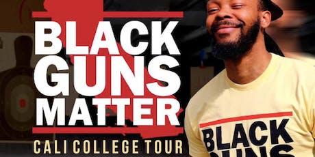 Black Guns Matter: Cali Tour(Maj Toure) (Presented by UCLA YAL) tickets