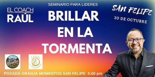 """SEMINARIO PARA LIDERES """" BRILLAR EN LA TORMENTA"""""""