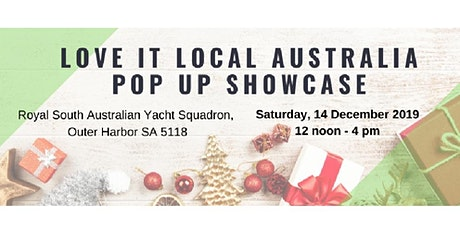 Love it Local Australia Pop Up Christmas Showcase tickets