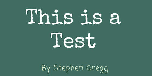 NDC Year 10 Play - This is a Test