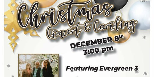 It's an Evergreen 3 Christmas Concert & Caroling hosted by The Widows Project