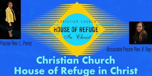 Evangelistic Christian Church Service