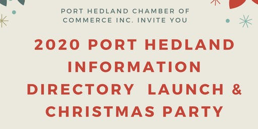 PHCCI | 2020 Directory Launch & Christmas Party