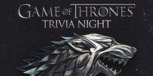 Game of Thrones Trivia Night