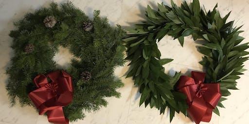 Wreath Making Workshop! - A Mountain School Fundraiser