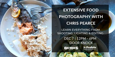 Extensive Food Photography Workshop with Chris Pearce (NEW DATE)