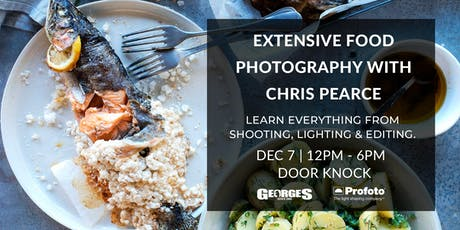 Extensive Food Photography Workshop with Chris Pearce (NEW DATE) tickets