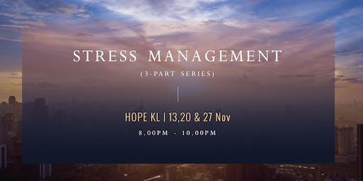 Stress Management (3-Part Series)