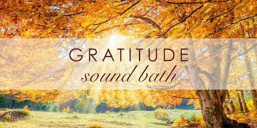 GRATITUDE Sound Bath