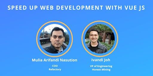 Developer Talks #12 -  Speed up Web Development with VUE JS