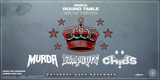 Disciple Round Table Takeover Mackay ft. Mvrda, Samplifier, Chibs