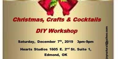 Christmas Crafts & Cocktails - A DIY Event