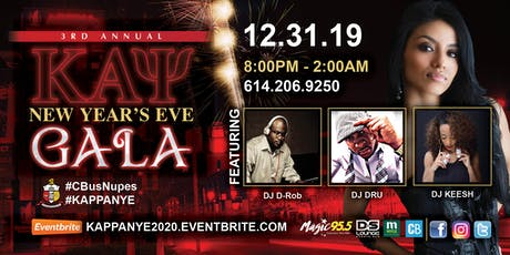 3rd Annual Kappa NYE Gala tickets