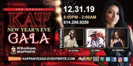 The 3rd Annual Kappa NYE Gala (VIP Seating) tickets