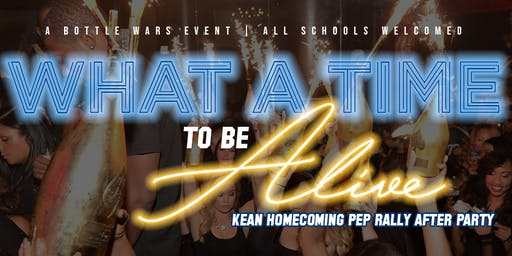 WHAT A TIME TO BE ALIVE: Pep Rally AfterParty #CougarOnCougar