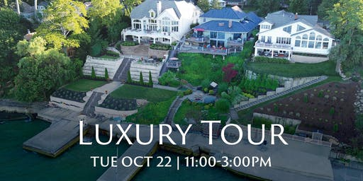 Luxury Lakefront Open House: Oct 22, Tue: 11:00-3:00pm