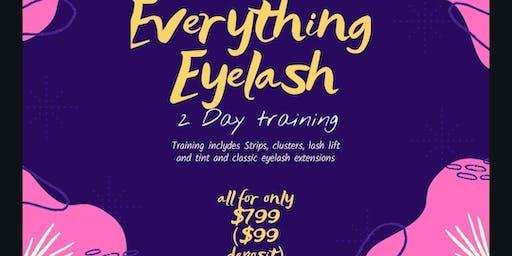 Everything Eyelashes Training
