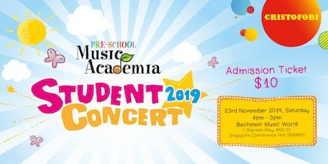 Pre-School Music Academia Student Concert tickets