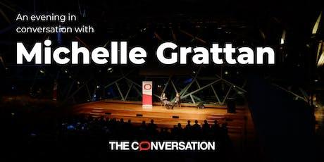 An evening in conversation with Michelle Grattan tickets