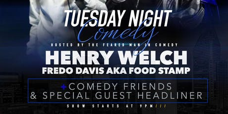 TUESDAY NIGHT COMEDY SHOW  tickets