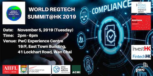 World Regtech Summit@HK