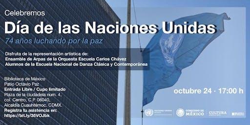 Celebración del Día de la ONU
