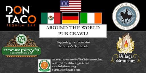 Around the World Pub Crawl!