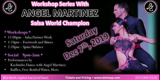 LE Workshop Series and Social with Angel Martinez