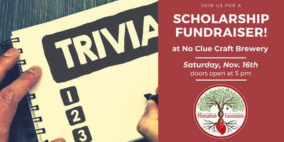 Scholarship Fundraiser - Trivia Night at No Clue Craft Brewery!