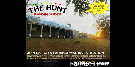 THE HUNT: Immortal 32 Paranormal Investigation