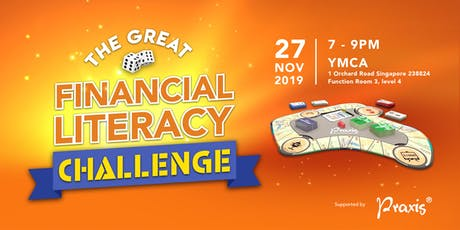 The Great Financial Literacy Challenge tickets