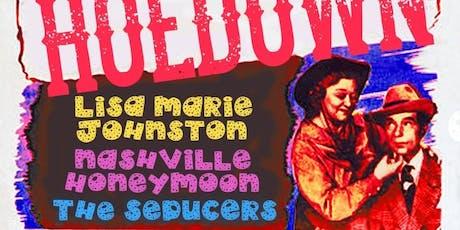 Dot's Hoedown Feat. Lisa Marie Johnston, Nashville Honeymoon, The Seducers tickets