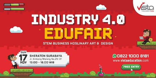 Industry 4.0 Education Fair 2019 Surabaya