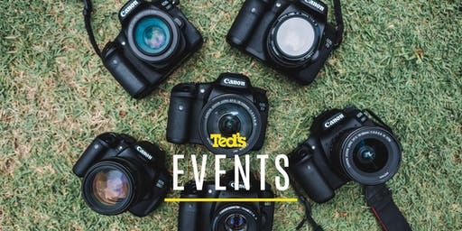 Canon - Getting to know your EOS | Chatswood | Beginner (119550)