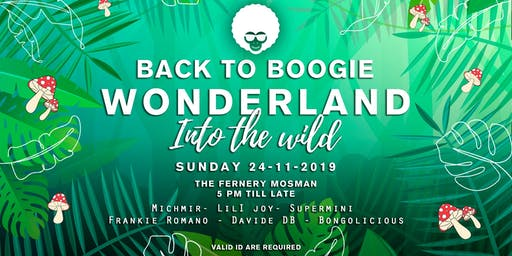 Back to boogie Wonderland into the Wild