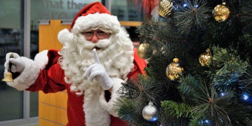Storytime  Christmas Party with Santa (Ages 0-5)