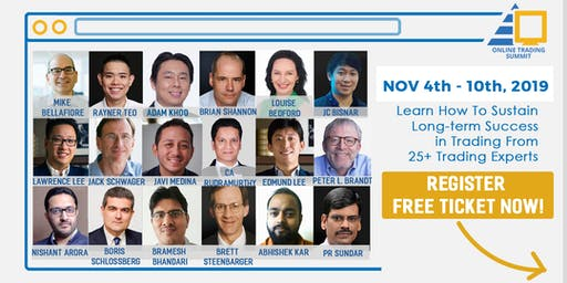 Online Trading Summit 2019- Learn Trading from 25+ Top Traders