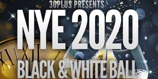 New Years Eve 2020 Black & White Ball
