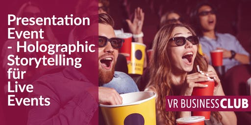 SparX Presentation Event: Holographic Storytelling im Live Entertainment