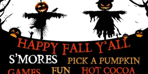 Hayride to the Old Movie Fort, for s'mores,and pumpkins