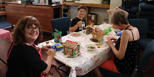 Gingerbread House Decorating Afternoon
