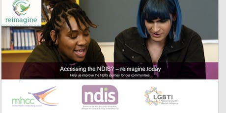 reimagine.today Co-Design with people from LGBTIQA+ Community - Workshop tickets